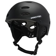 The Ace Wake Rescue Helmet - Rubber Black