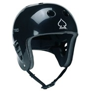 Classic Full Cut Water Helmet - Gloss Black