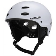 The Ace Wake Helmet - Satin White