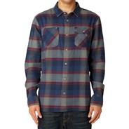 Jagger LS Flannel Shirt - Indigo