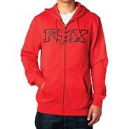 Legacy Foxhead Zip Fleece - Flame Red