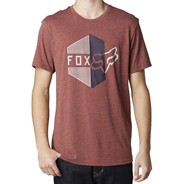 Walled S/S T-Shirt - Heather Rust