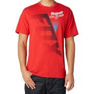 Digitize Slim S/S T-Shirt - Red
