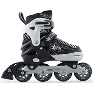 Pulsar Adjustable Recreational Inline Skates - Silver