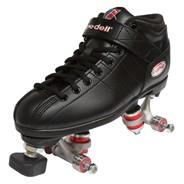 R3 Black Assembly Boot Only Quad Roller Skates
