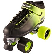 Dart Ombre Quad Roller Skates Black/Yellow
