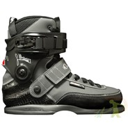 CJ Pro Aggressive Boot Only Soulplate Skates - Grey