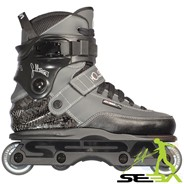 CJ Pro Aggressive Inline Skates - Grey