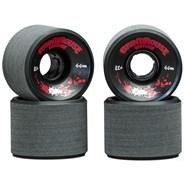 Grindhouse Wheels Black - 66mm/82a