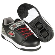 Dual Up Black/Grey/Elephant Kids Heely X2 Shoe