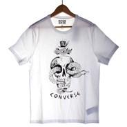 Skull S/S T-Shirt - White