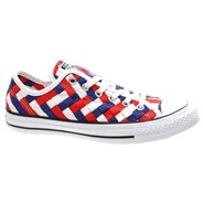 CT AS Ox Weave Shoe - White/Clematis Blue 151241C