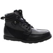 Bishop Black Leather Shoe