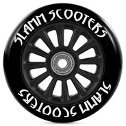Nylon Core 100mm Scooter Wheel and Bearings - All Black