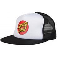 Classic Dot Mesh Cap - White/Black