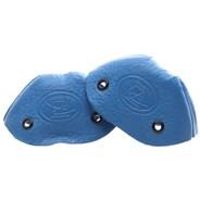 Leather Toe Caps - Ultra Blue