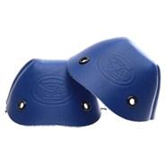 Leather Toe Caps - Royal Blue