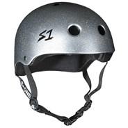 Lifer Helmet - Silver Gloss Glitter