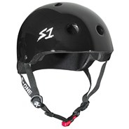 Mini Lifer Helmet - Black Gloss