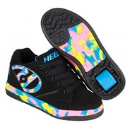 Propel 2.0 Black/Pink/Blue/Confetti Kids Heely Shoe