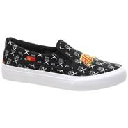Trase Slip On x AT Kids Black/White/Red Shoe