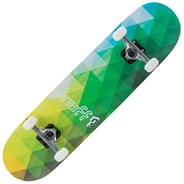Geometric Green 8inch Complete Skateboard
