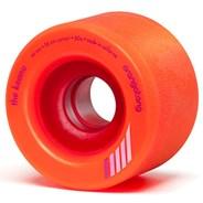 Keanu Centreset 66mm Longboard Wheels - Orange
