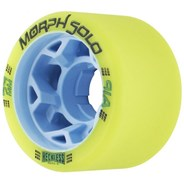 Morph Solo 59mm 91A Roller Derby Skate Wheels - Lime