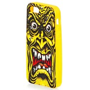 Rob Face iPhone Cover 5/5s - Yellow