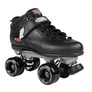 Boxer Aerobic Black Quad Roller Derby Skates