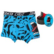 Screaming Hand Boxer & Leather Belt Gift Set