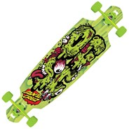 OGSC Green Drop Through Complete Longboard