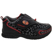 Dinofit Growler Toddler/Kids Shoe - Black/Red