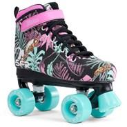 Vision Canvas Kids Quad Roller Skates - Floral