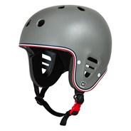 Full Cut Certified Helmet - Matte Grey Trike