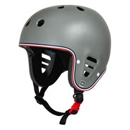 Full Cut Certified Helmet - Matte Grey Trike
