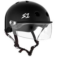Lifer Helmet inc Visor - Black Gloss