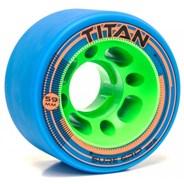 Titan 92a Roller Derby Skate Wheels - Teal