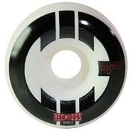 CIB Park 58mm White/Black Aggressive Quad Roller Skate Wheels