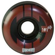 CIB Ramp 58mm Black/Red Aggressive Quad Roller Skate Wheels