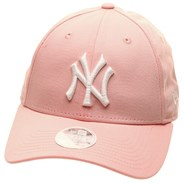 MLB League Essential Womens 9FORTY Cap - NY Yankees Pink