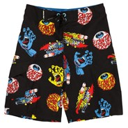 Mashup Youth Boardshorts - Black