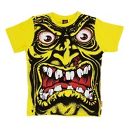 Rob Face S/S Youth T-Shirt - Yellow