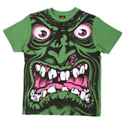 Rob Face S/S Youth T-Shirt - Mint Green