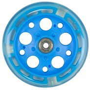 Zycom 125mm Light up front wheel - Sky Blue