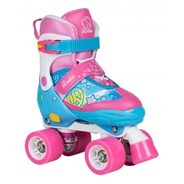 Fab Junior Children's Quad Adjustable Roller Skates