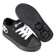 Fresh Black/Black/White Kids HX2 Heely Shoe