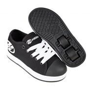 Fresh Black/White Kids HX2 Heely Shoe