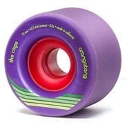 Cage Centreset Longboard Wheels - Purple