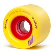 Keanu Centreset 66mm Longboard Wheels - Yellow